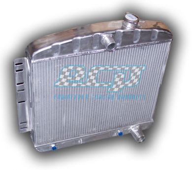1948 - 1954 Chevy Radiator - 3000 CFM HPX Fan + Shroud