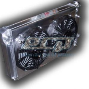 S10 V8 Conversion Radiator - DUAL FANS