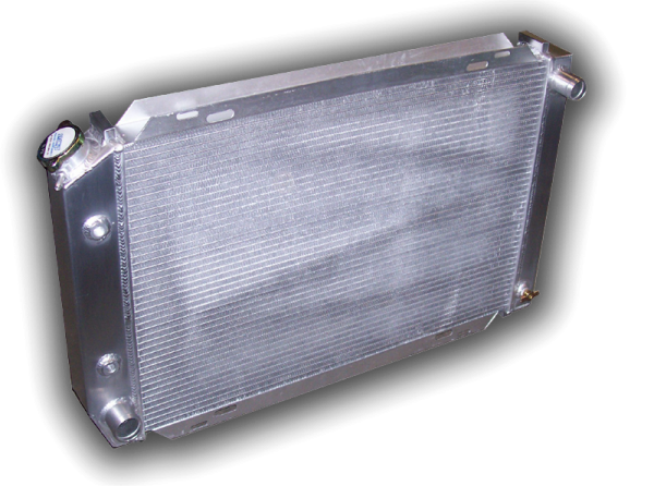 1979 - 1993 Mustang Aluminum Radiator - Automatic Transmission