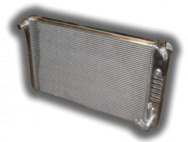 1977 - 1982 Corvette Aluminum HD Radiator - Automatic Transmission