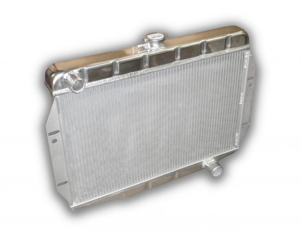 Jeep CJ 1972 - 1986 Aluminum Radiator For Small Block Chevy Conversion