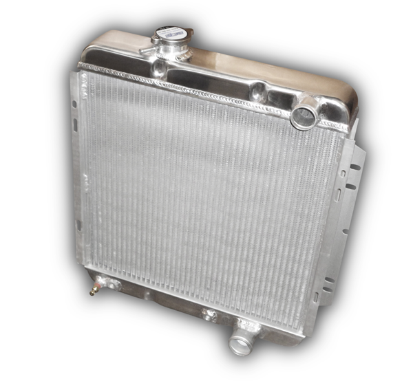 1964 - 1966 Mustang Aluminum Radiator For 289 V8