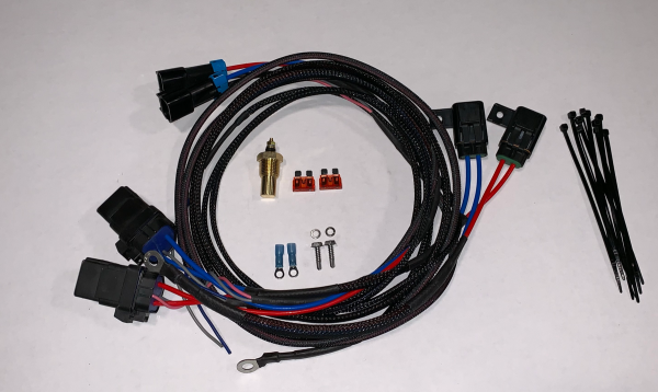 Dual HD Electric Cooling Fan Harness Kit
