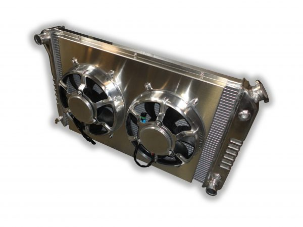 1970 - 1981 Firebird And Trans AM Aluminum ECP Radiator - Dual HPX Fans